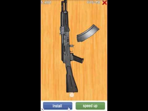 Android games#4 АК-74 сборка/разборка