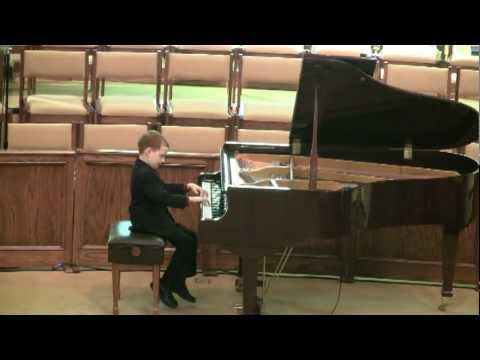 Josh's Recital (12-16-11)