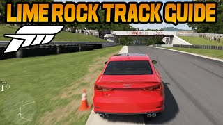 Forza 6 Lime Rock Park Track Guide (How To Lap Quickly)