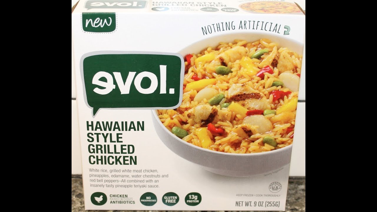 Evol Hawaiian Style Grilled Chicken Review Freezer Meal Frenzy