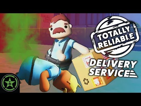 SAD FARTS - Totally Reliable Delivery Service | Let's Play