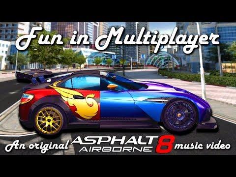 Fun in Multiplayer - an original Asphalt 8 music video