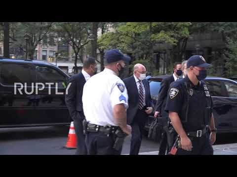Trump CFO Allen Weisselberg appears in court in NYC for hearing on tax evasion