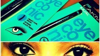 Lakme eyeconic kajal +mascara review