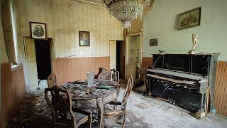Italian Mansion of an Antique Dealer got Bankrupt in the Financial Crisis