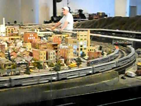"""The Great Train Story"" massive HO layout at the Museum of Science and Industry in Chicago, IL Pt. 1"