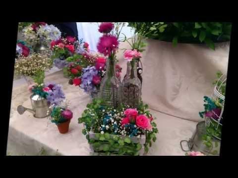 Diseño floral profesional... ambientación.