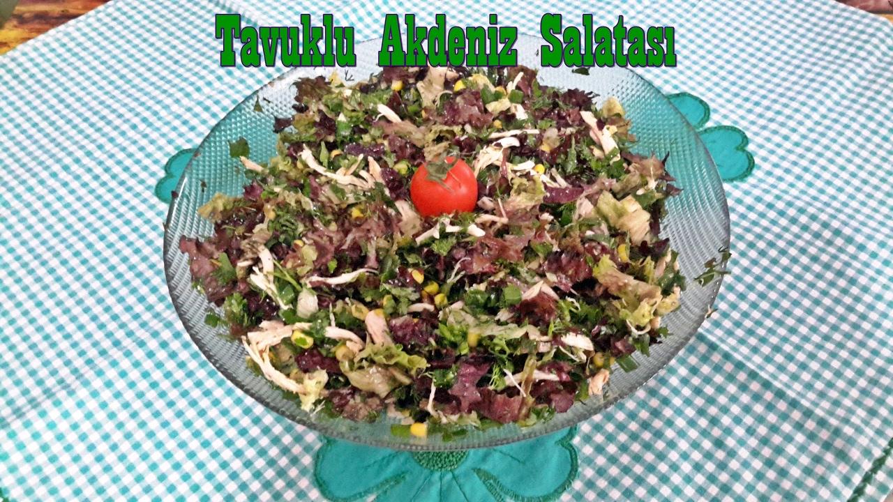 Akdeniz Salatası, Akdeniz Salatası Tarifi