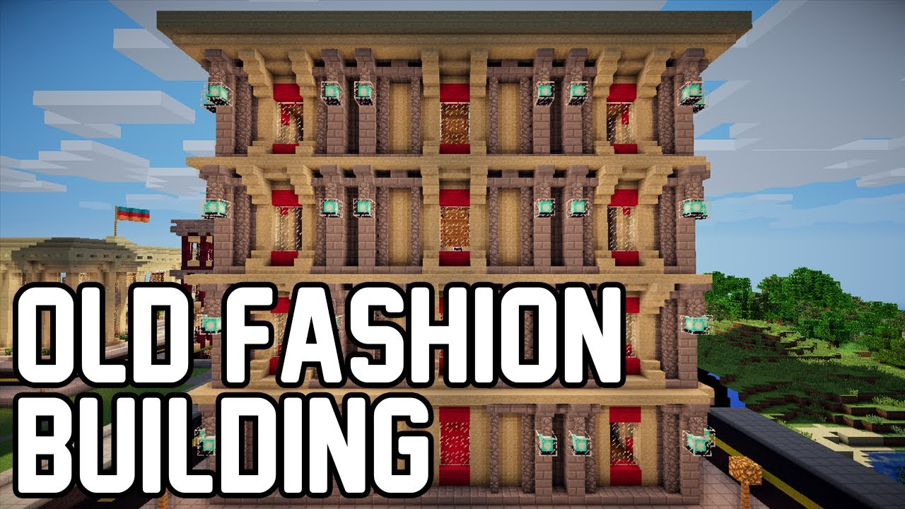 Minecraft how to make old victorian building youtube for What is needed to build a house
