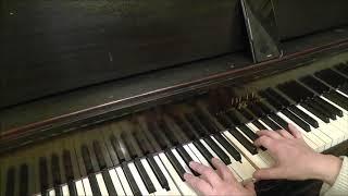 Люба Успенская К Единственному ...играть на пианино Разбор аккорды видео