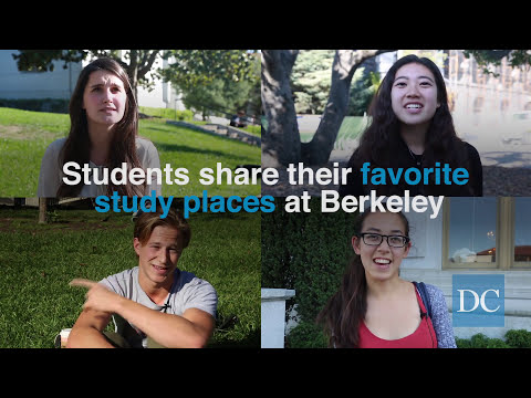 Students share their favorite places to study at UC Berkeley