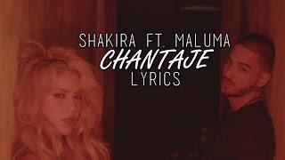 Shakira ft. Maluma - Chantaje | Lyrics Of Songs