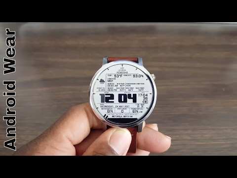 Top 5 Android Wear Watch Faces You Must Try 2017