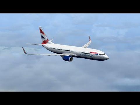 Cape Town INTL to O. R. Tambo INTL - Boeing 737-800 British Airways/Comair