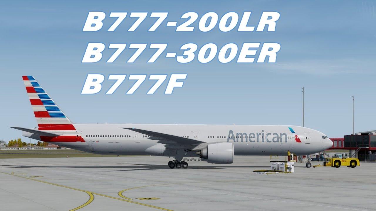 Các biến thể máy bay Boeing 777