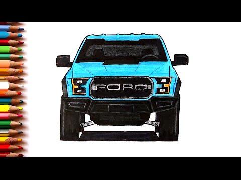Как нарисовать машину Ford Raptor | Ehedov Elnur