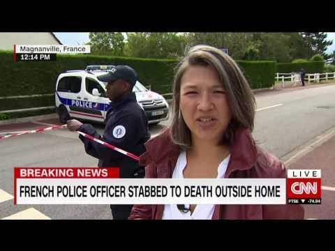 CNN Breaking News - 14th June 2016 - France Terror Attack