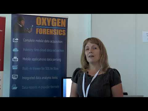 From DIC Zurich, June 2017: a chat with Tatiana Pankova of Oxygen Forensics