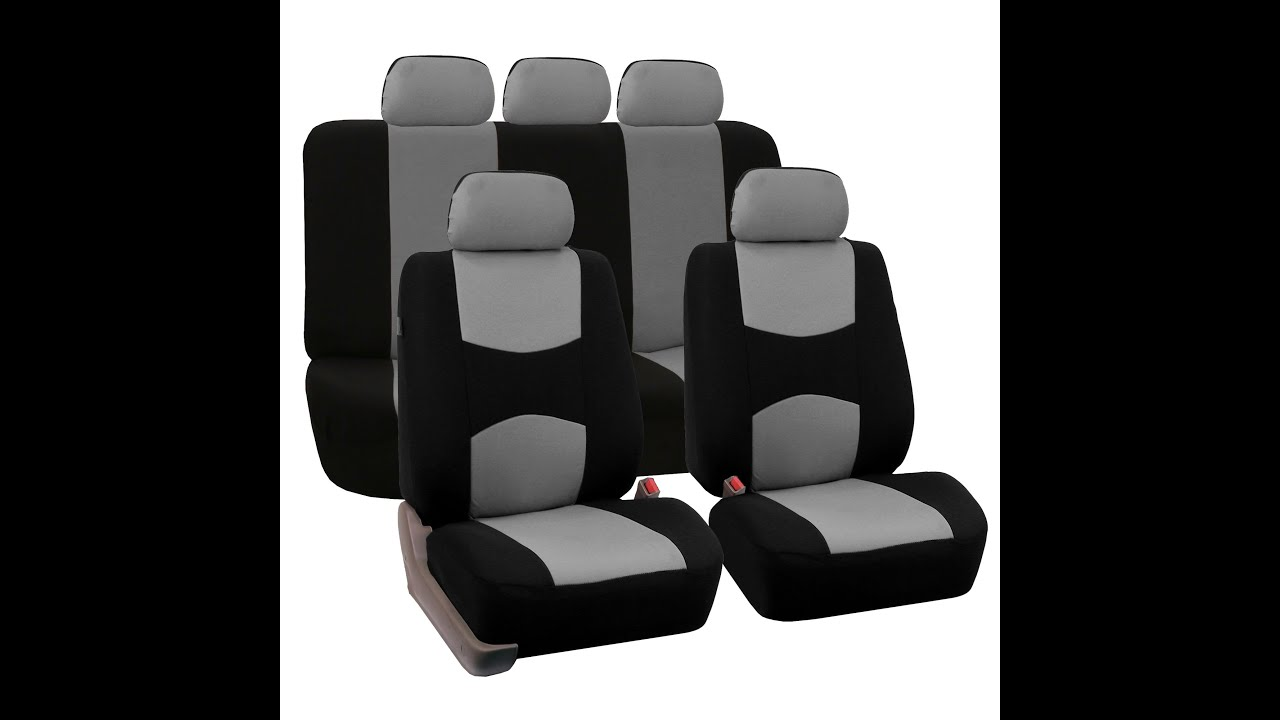 Flat Cloth Multifunctional Seat Covers Full Set