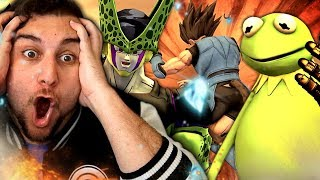 KERMIT WHAT HAVE YOU DONE?! | Kaggy Reacts to Cell VS Fortnite, Rock Lee, Luffy & Kermit End Game