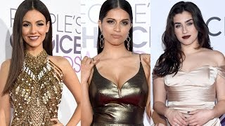 7 Best Dressed Celebs at People's Choice Awards 2017