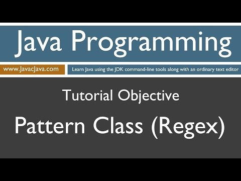 learn-java-programming---pattern-class-(regex)-tutorial