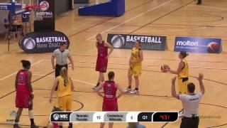 2016 Women's Basketball Championship | Semi-Final 1 | Taranaki Thunder v Canterbury Wildcats