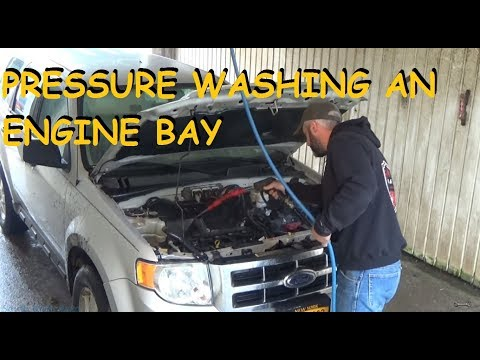 DIY - Engine Pressure Washing