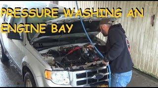 DIY - Engine Pressure Washing