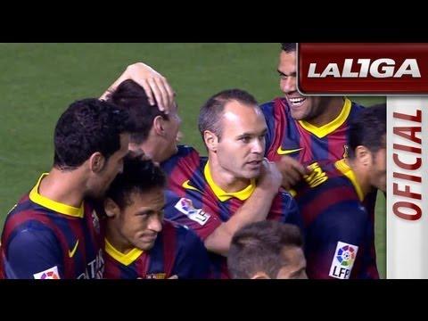 Gol de Messi (0-1) en el Valencia CF - FC Barcelona - HD