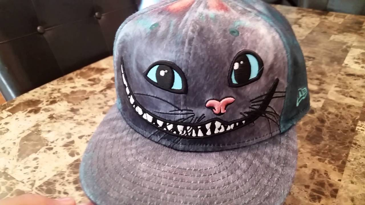08266e8c28f New Era Alice in Wonderland Cheshire Cat Hat Collection - YouTube