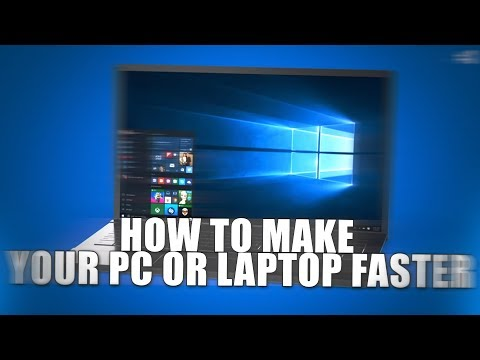 How to Make Your Computer Faster! INSANE Performance Boost! (2018)