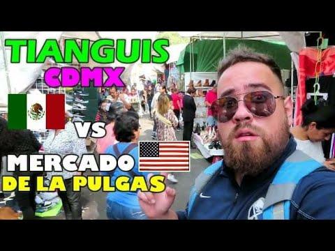 TIANGUIS DE MEXICO VS MERCADO DE LAS PULGAS DE ESTADOS UNIDOS CUAL ES EL MEJOR ?