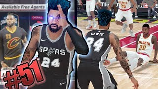 LeGM Gento! FULL COURT BUZZER BEATER! Free Agency Recruit! NBA 2k18 MyCAREER Ep. 51