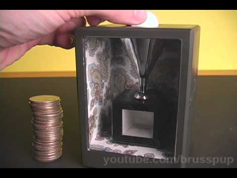 Cool Illusion Coin Bank!