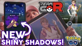 NEW SHINY SHADOW POKÉMON! How to Beat NEW Team GO Rocket Leaders!