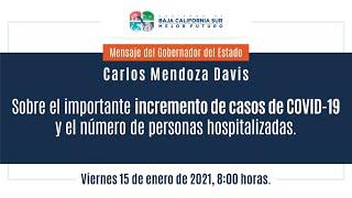 Miniatura de video Mensaje sobre el importante incremento de casos de COVID-19