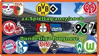 FIFA 18 Bundesliga Prognose 22.Spieltag 2017/2018 Alle Spiele, alle Tore Deutsch (HD)