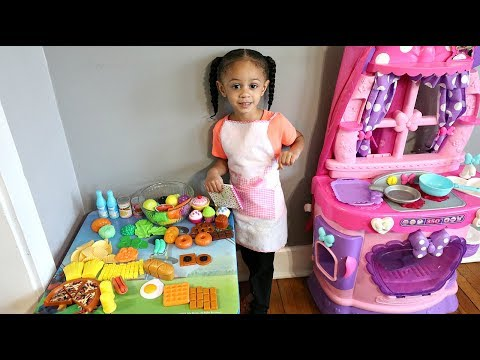 Generate Pretend Cooking Play Food Toys with Toy Kitchen Playset Imani's Fun World Snapshots