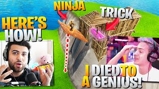 Ninja Was OUTPLAYED By This GENIUS Trick! (Learn It Now!) - Fortnite Battle Royale