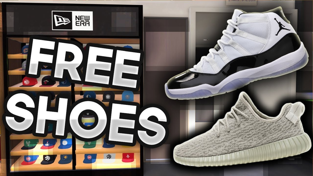 a5ffa78c987f HOW TO GET FREE SHOES   CLOTHES IN NBA 2K18