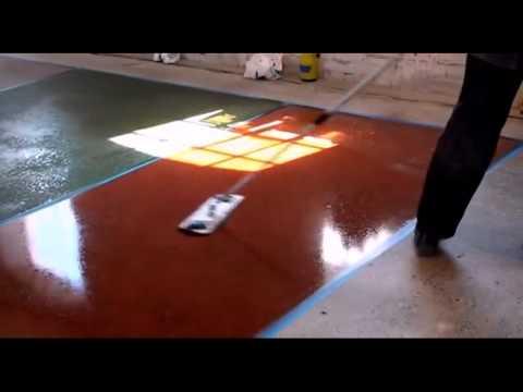 Краска. Краска для бетонных полов C2 Tint Техника выполнения работ.