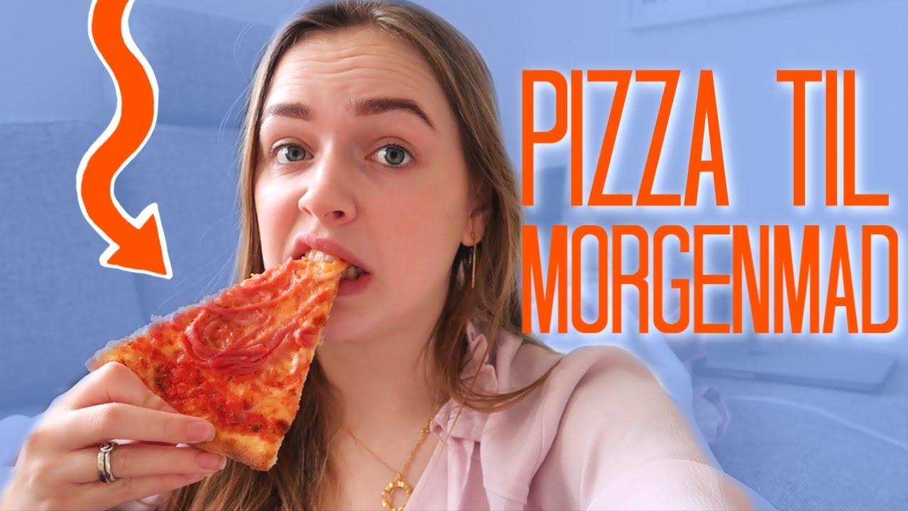 Jeg Må Kun Spise Pizza I 24 Timer Louliving Youtube