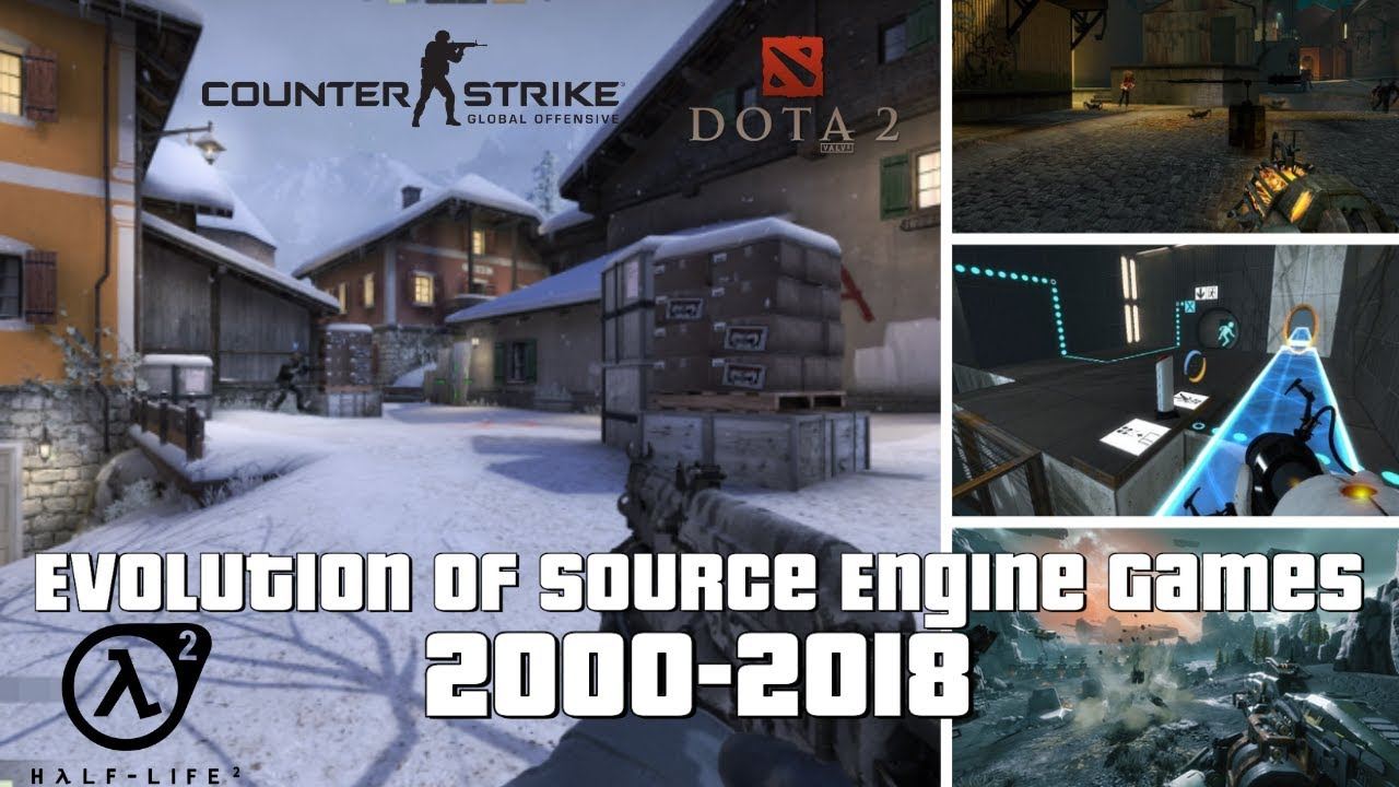 Evolution of Source Engine Games 2000-2018