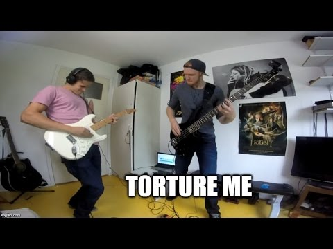 Torture Me - Red Hot Chili Peppers (Guitar cover & Bass cover)