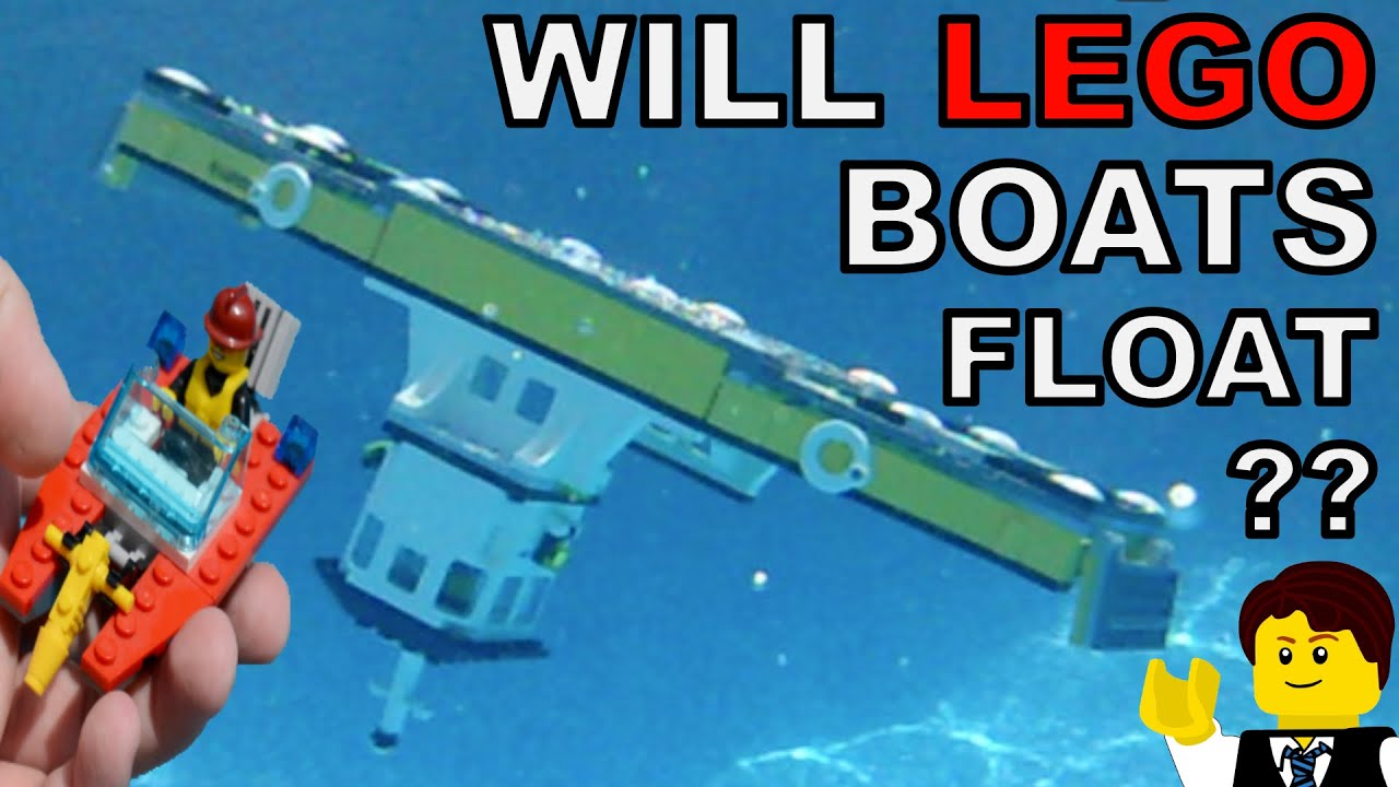 Do These Lego Boats Float Youtube