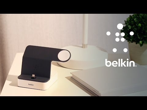 Discover The Belkin PowerHouse™ Charge Dock For Apple Watch + IPhone