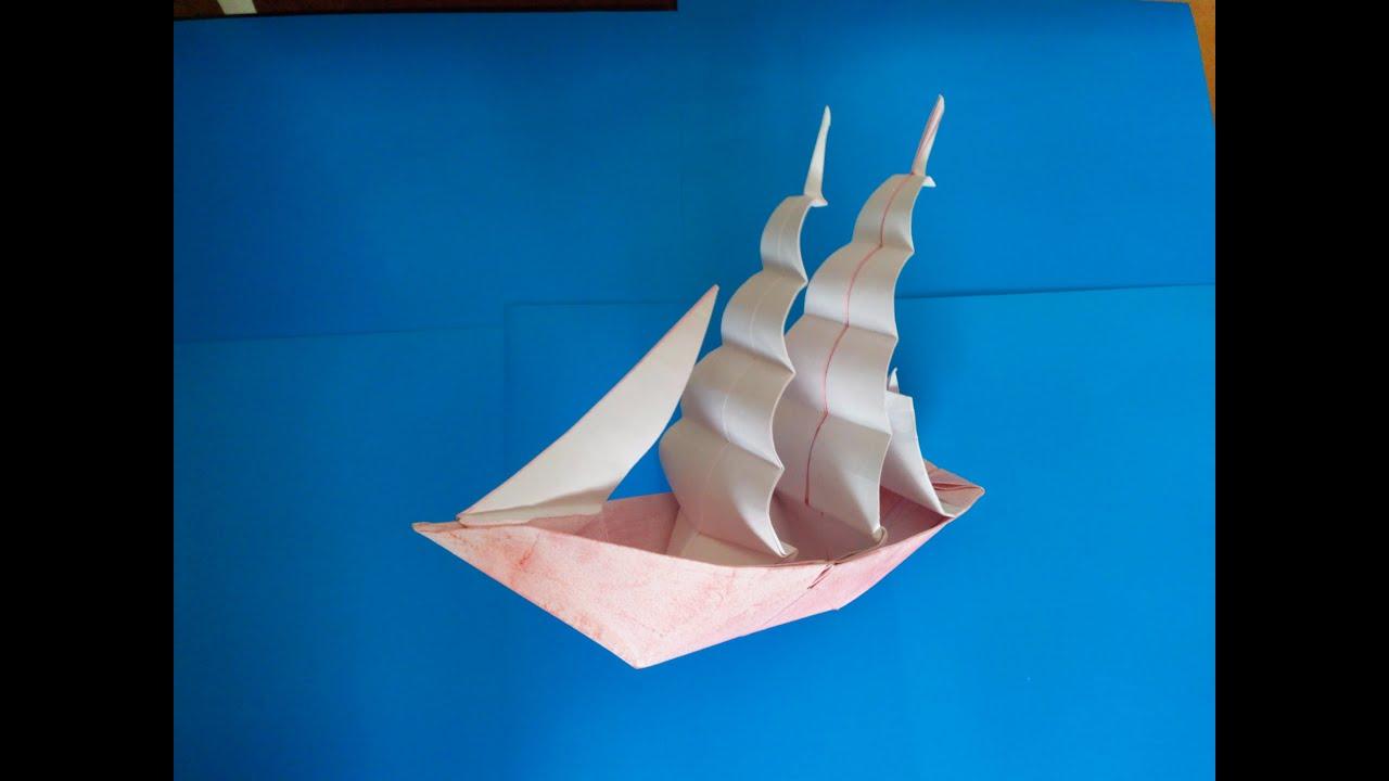 Ко�абл� Ф�ега� о�игами frigate ship origami patricia