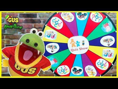 Nick Jr Quiz Spin Wheels game with Paw Patrols Surprise Toys