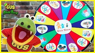Nick Jr Quiz Spin Wheels game with Paw Patrols Surprise Toys